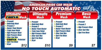 no touch automatic car wash american pride car wash. Black Bedroom Furniture Sets. Home Design Ideas